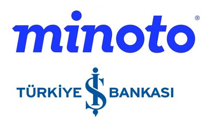 İŞ BANKASI İLE MINOTO ARASINDA DEV ORTAKLIK