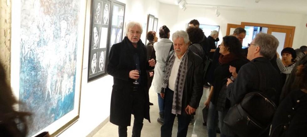 SADIK ALTINOK'UN MUHTEŞEM SERGİSİ ZİRAAT ART TÜNEL'DE AÇILDI