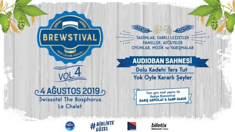 Yeme içme festivali Brewstival Vol 4.  4 Ağustos'ta İstanbullular ile buluşacak